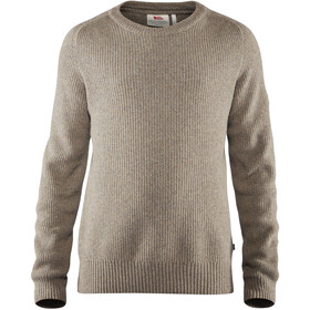 Fjällräven Greenland Re-Wool Crew Neck Heren, driftwood